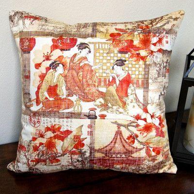 Artisan Pillows High End Asian Far East Oriental Modern Indoor ...