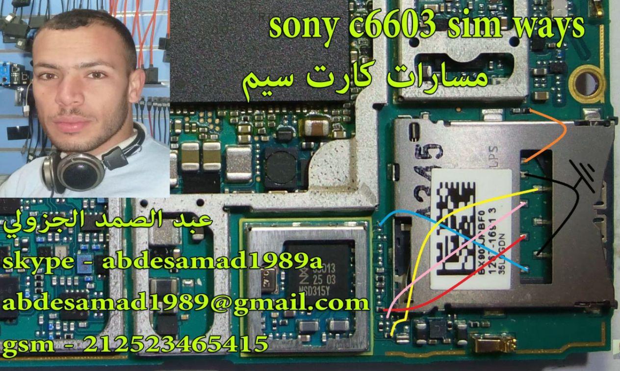 sony xperia z c6603 insert sim card problem solution jumper ways [ 1264 x 756 Pixel ]