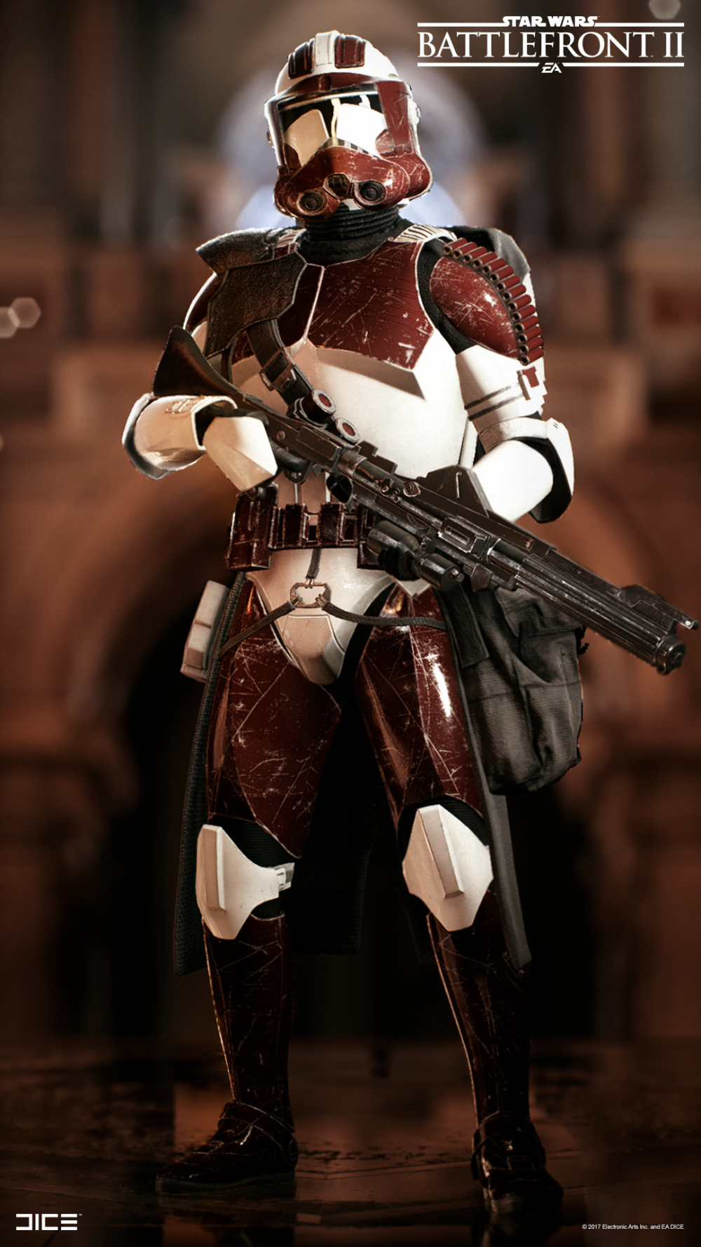 Star Wars Battlefront 2 Clone Trooper Heavy Class Bjorn Arvidsson 4k Best Of Wallpapers For Andriod And Ios