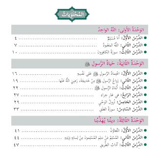 كتاب التربية الاسلامية للصف الثاني الاساسي الفصل الاول 2019 Map