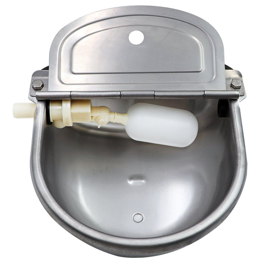 Stainless Steel Waterer Bowl With Scupper For Horse Dog Cattle Goat Sheep Pig Float Valve By Livestocktool Ad Scupper Horse Do Hog Pig Sheep Pig Pig Dog
