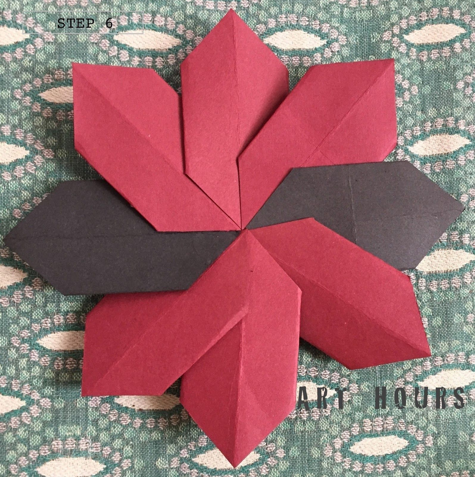 Origami Flower Modular Origami Instructions Origami Tutorials