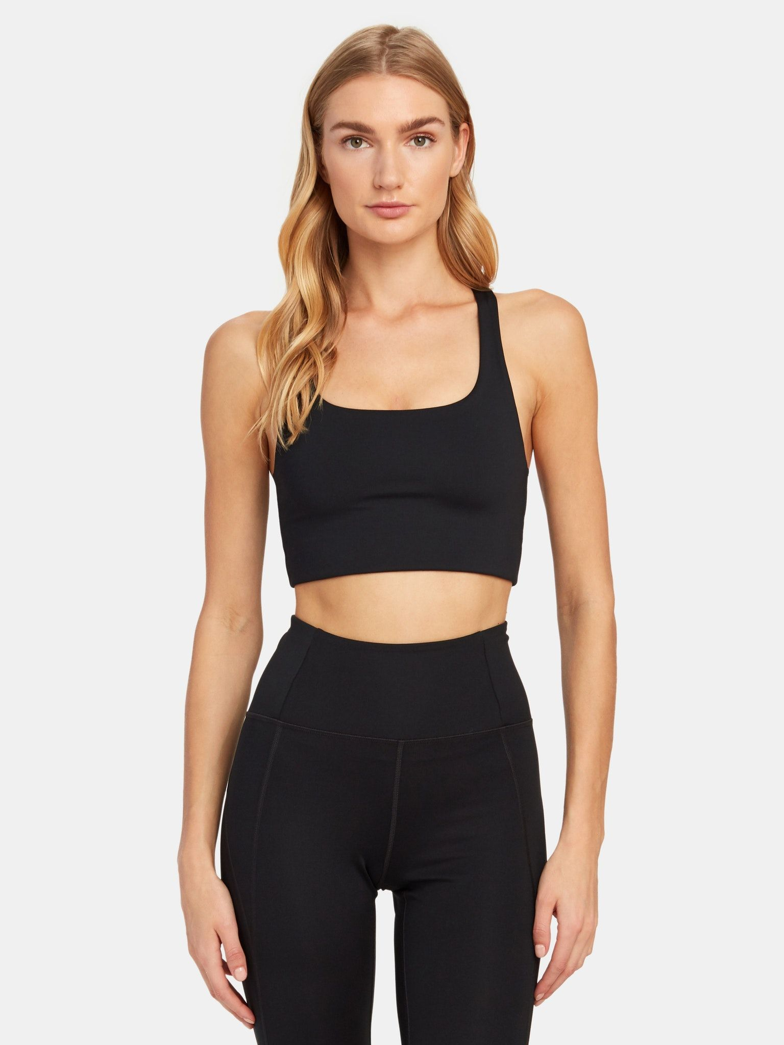 Girlfriend Collective Cropped Paloma Sports Bra in 2020
