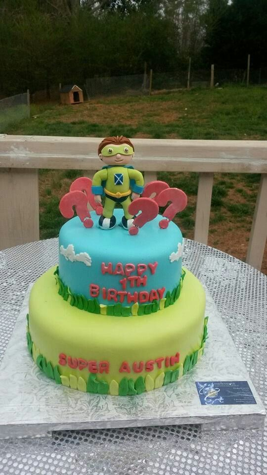 Super why cake, a beautiful cake for 1th birthday, cool ...