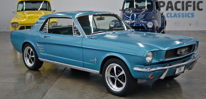 Sweet Custom 1966 Ford Mustang Coupe 302