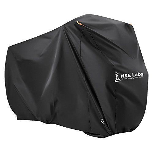 Bicycle Bike Rain Wind UV Dust Cover Waterproof Outdoor Storage Protector Black