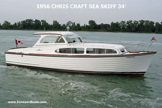 56 Chris Craft Boat Design Boat Vintage Boats