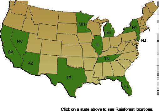 US Map highlighting Texas, Nevada, California, Minnesota ...