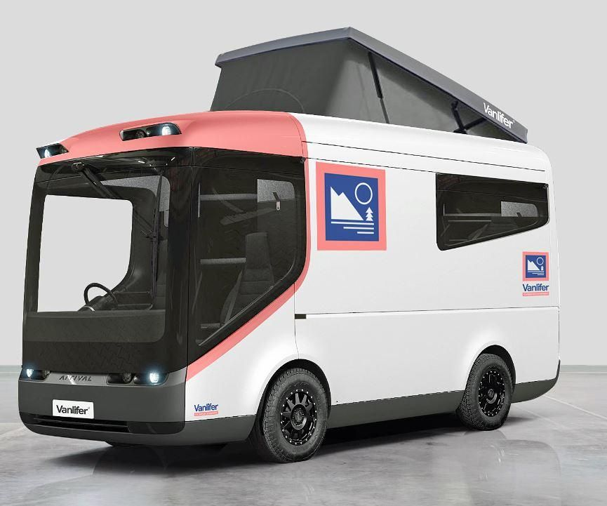 Arrival electric vehicles the ultimate new campervan
