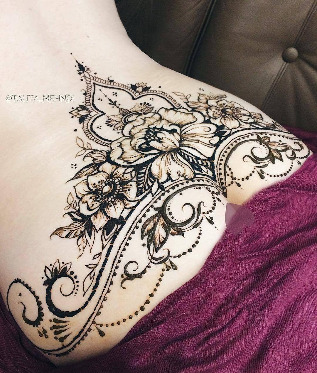 Pin By Ingrid Hintze On Tatoos Full Body Henna Full Body Tattoo