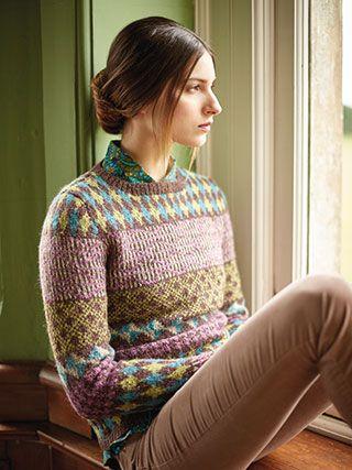 BRAVEHEART SWEATER from Rowan Knitting and Crochet Magazine No. 60 ...