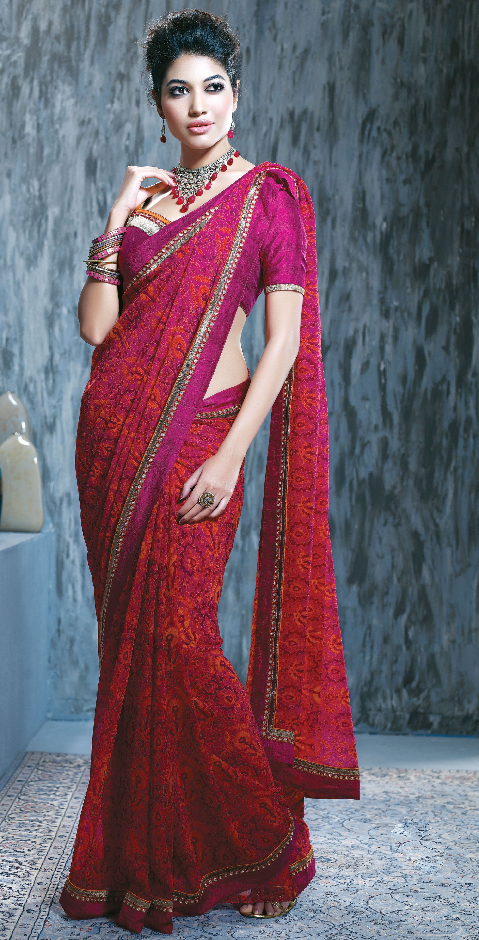 Designer Printed Sari @ Affordable Price. Please Feel Free to ask for quote.   Saree, Party wear ...