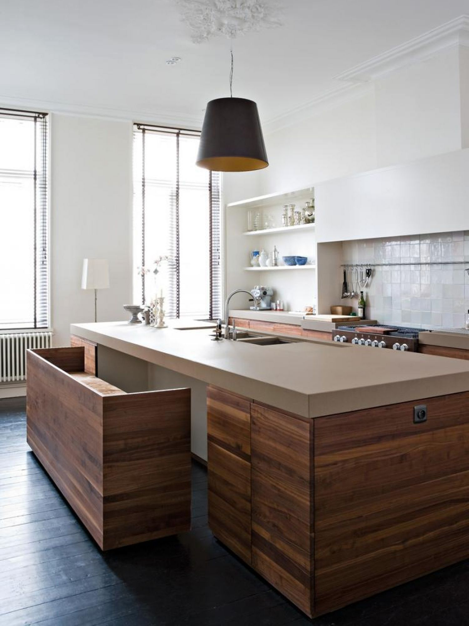 7 Creative Kitchen Island With Comfortable Bench Ideas Modern Kitchen Island Kitchen Island Bench Kitchen Island With Seating