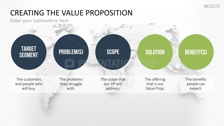 Value Proposition Powerpoint Template  Lifesavers University