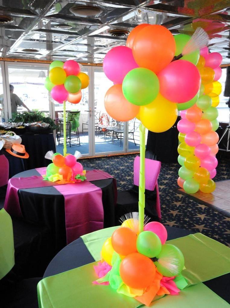 4 tipps und tricks f r eine bezaubernde 80er party party - Karneval dekoration tisch ...