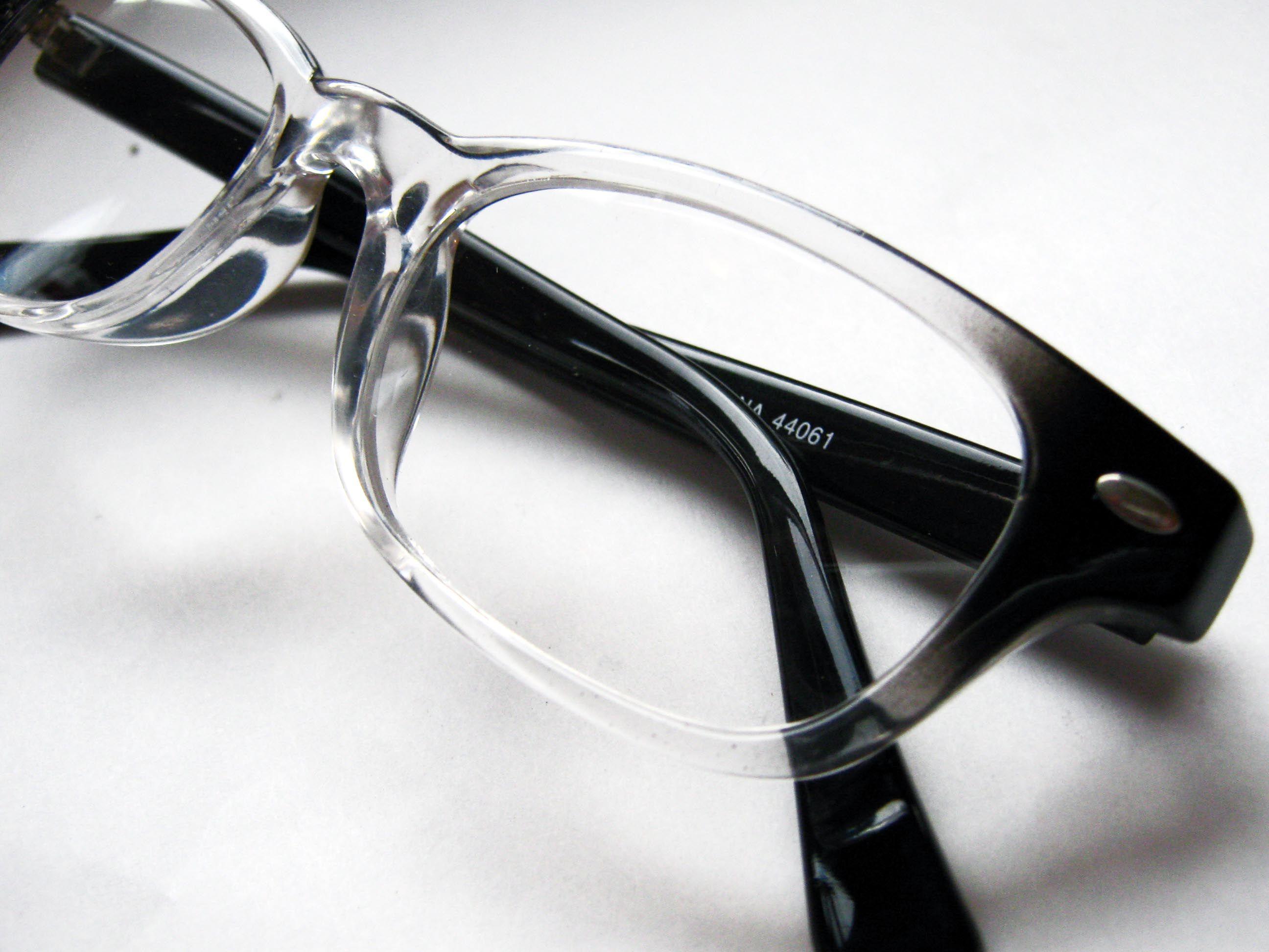 512b7979c7  Wilson  Hipster hornrim Black to clear fade reading glasses eyeglass frames