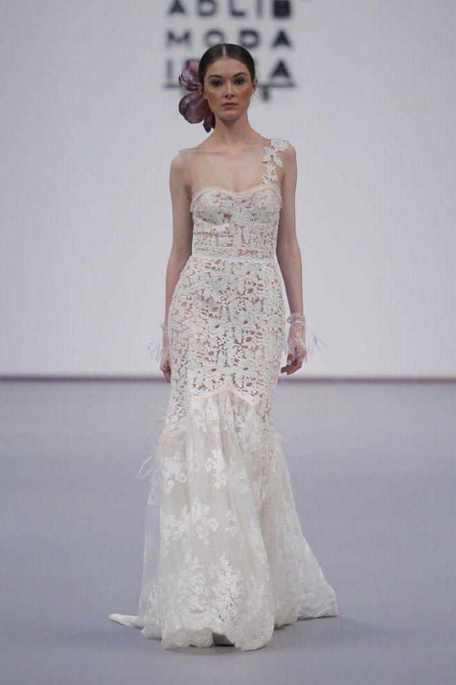 Vestidos de novia de verano 2019