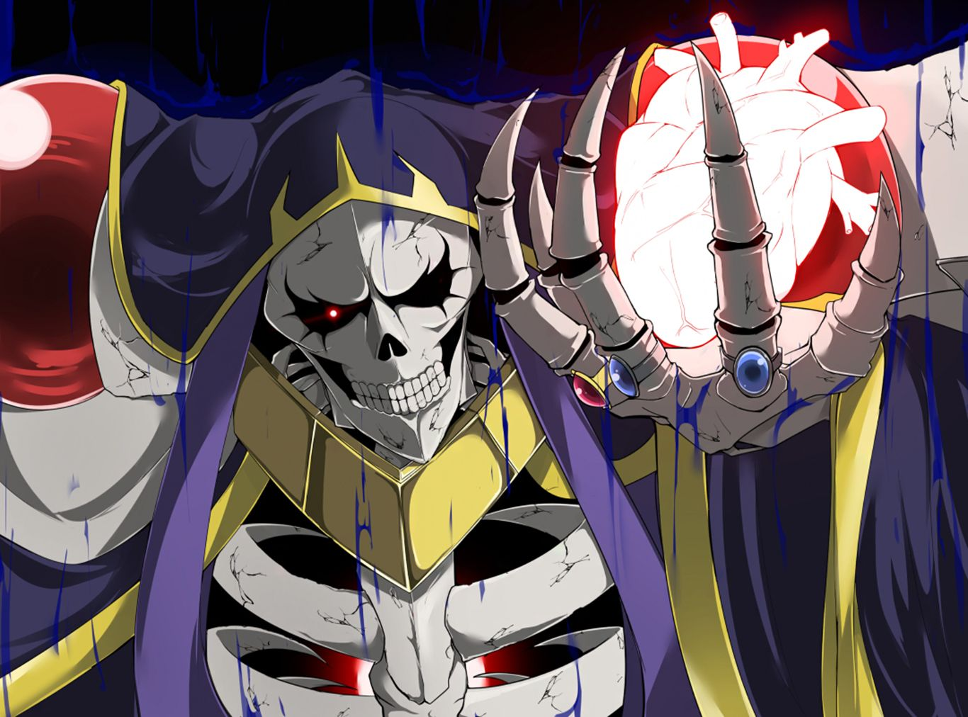 Ainz Ooal Gown Computer Wallpapers Desktop Backgrounds 1366x1012 Id 648903 Anime Anime Images Anime Wallpaper