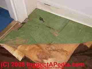 How To Identify Asbestos Floor Tiles Or Asbestos Containing Sheet Flooring Asbestos Visual Identification In Buildings Tile Floor Flooring Flooring Materials