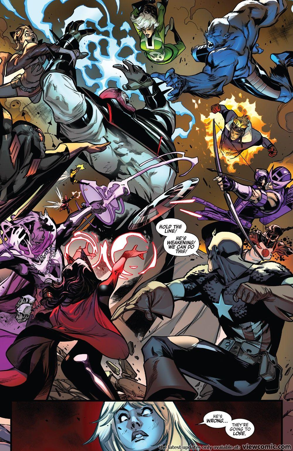 Avengers v6 689 (2018) ……………………… | View Comic | New my
