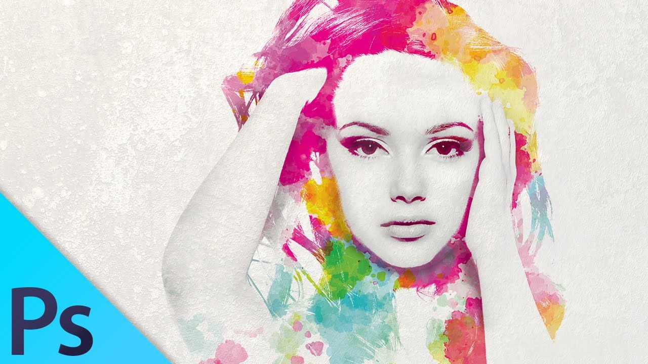 Watercolor girl multiple exposure effect photoshop tutorial watercolor girl multiple exposure effect photoshop tutorial baditri Choice Image