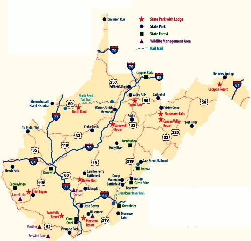 west virginia state parks | West Virginia State Parks. WV has the ...