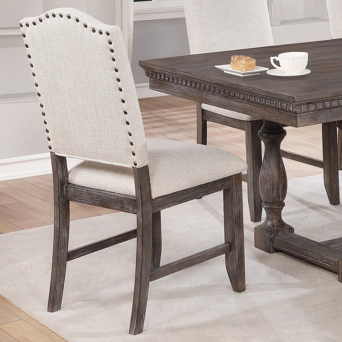 Claremont regent side chair in warm brown nebraska furniture mart