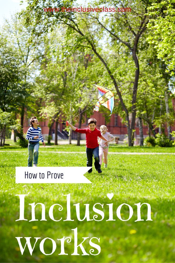 How to prove to your childs school that inclusion works