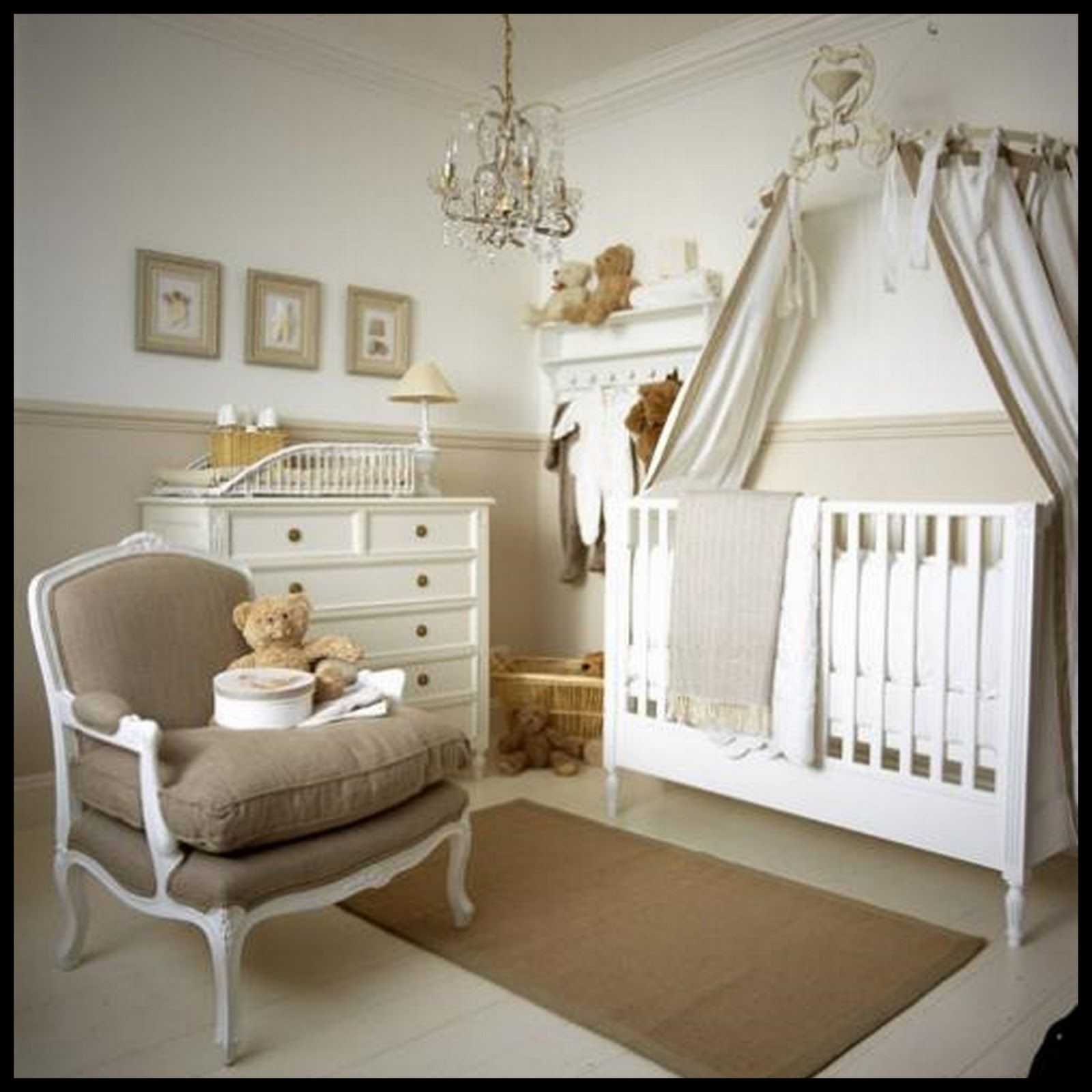 Beautiful Colors for Baby Girl Nursery