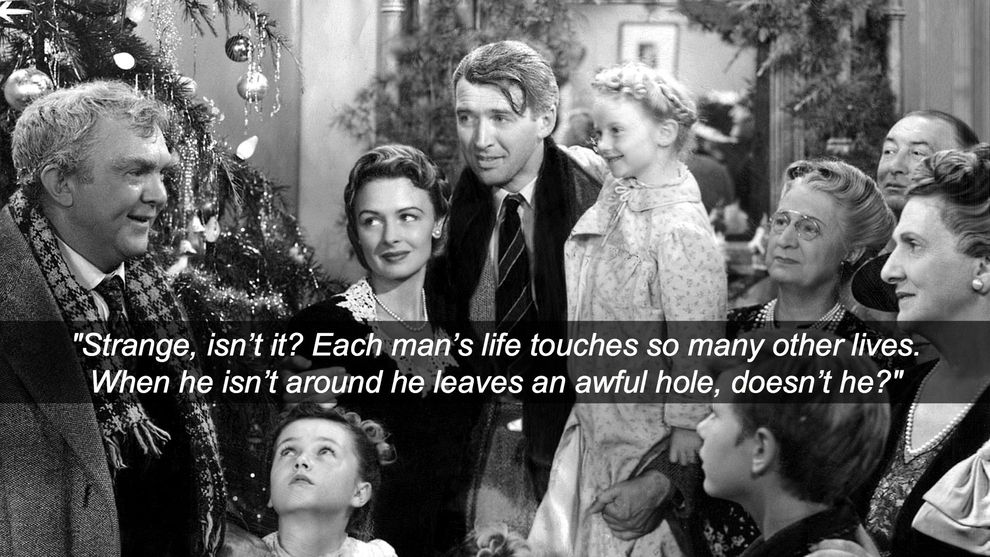 Life Movie Quotes Amusing It's A Wonderful Life 1946  Pinterest  Wonderful Life Wisdom