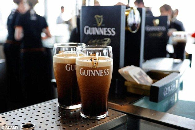 On floor five in the Storehouse, visitors get the chance to pour their own pint of Guinness