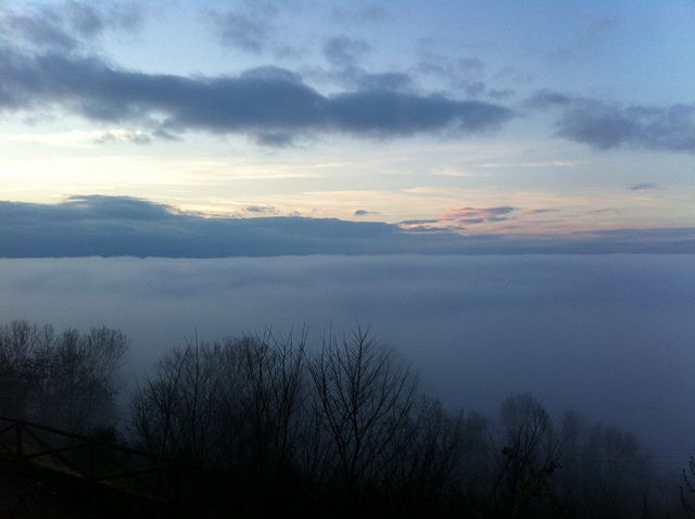 Wow. Looking at the Val D'Orcia from #Montepulciano, Dec. 24th 2013 (photo by LocandaSanFrancesco #BoutiqueHotel + www.locandasanfrancesco.it)