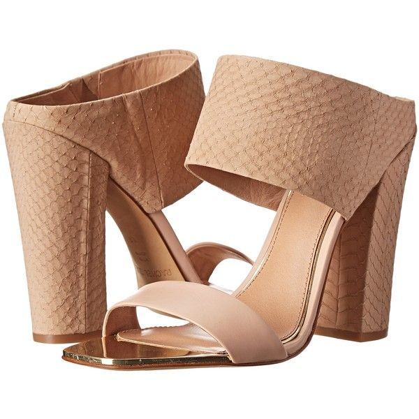 Rachel Zoe Skyla (Dark Natural Snake/Calf) High Heels ($133) ❤