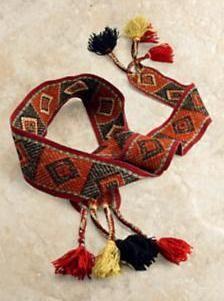 Arte y Antropología: Chuspas (bolsas) y chumpis (fajas) del Perú