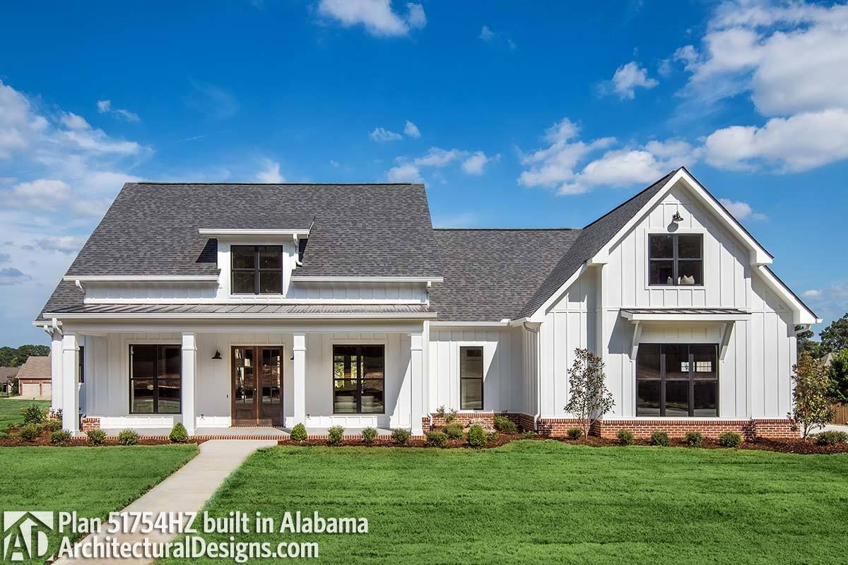 family house plans with bonus room. House  Modern Farmhouse Plan with Bonus Room 51754HZ Architectural