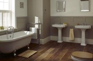 landelijke badkamer 1 - ideeën slaapkamer | Pinterest - Badkamer ...