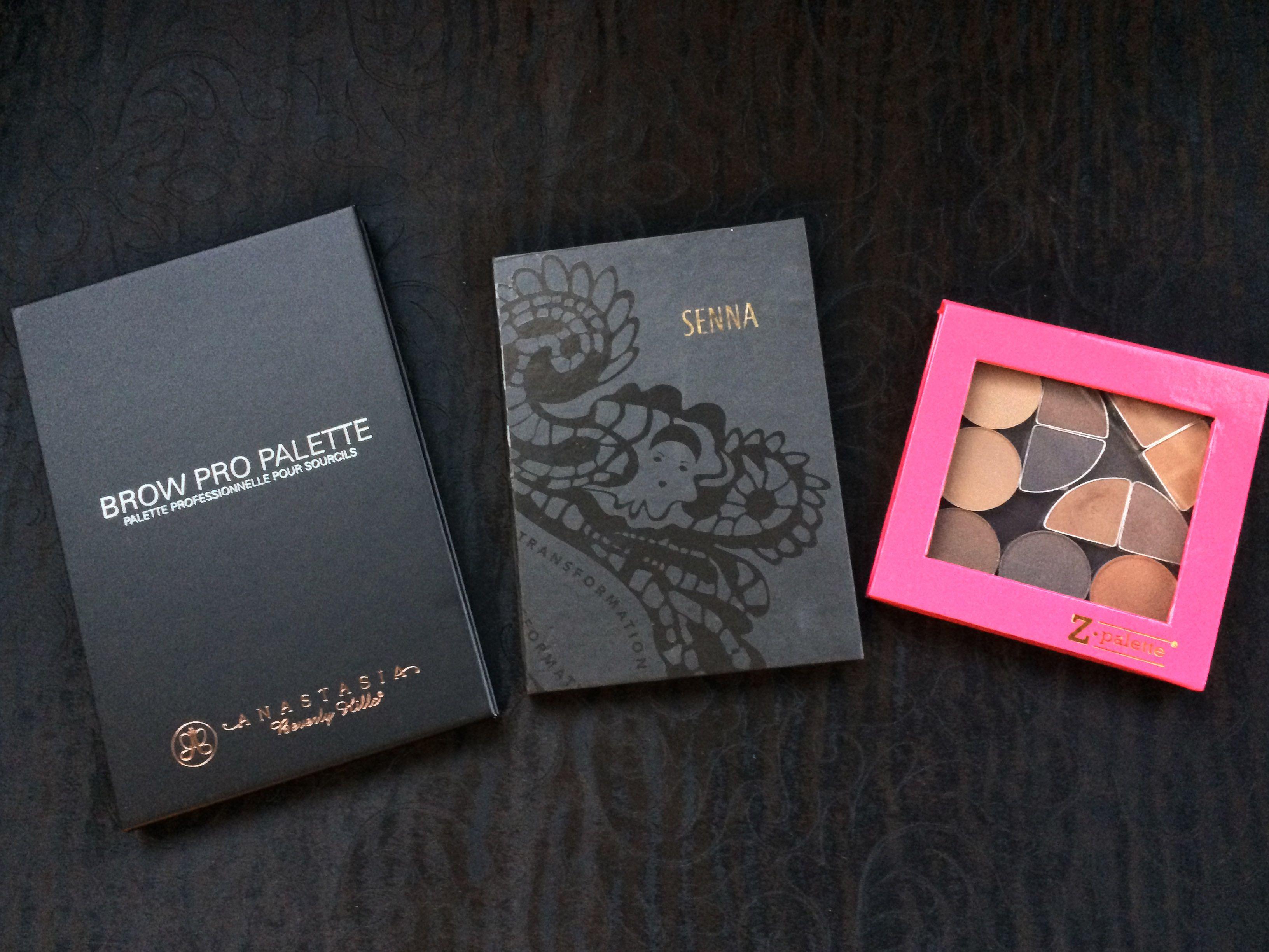Anastasia Brow Pro Palette Senna Brow Book Body Shop Brow Kits And
