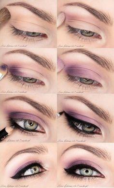 Cómo maquillar los ojos [FOTOS] | ActitudFEM