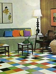 50u0027s   60u0027s   70u0027s Retro Vintage Interior Design On Pinterest ...