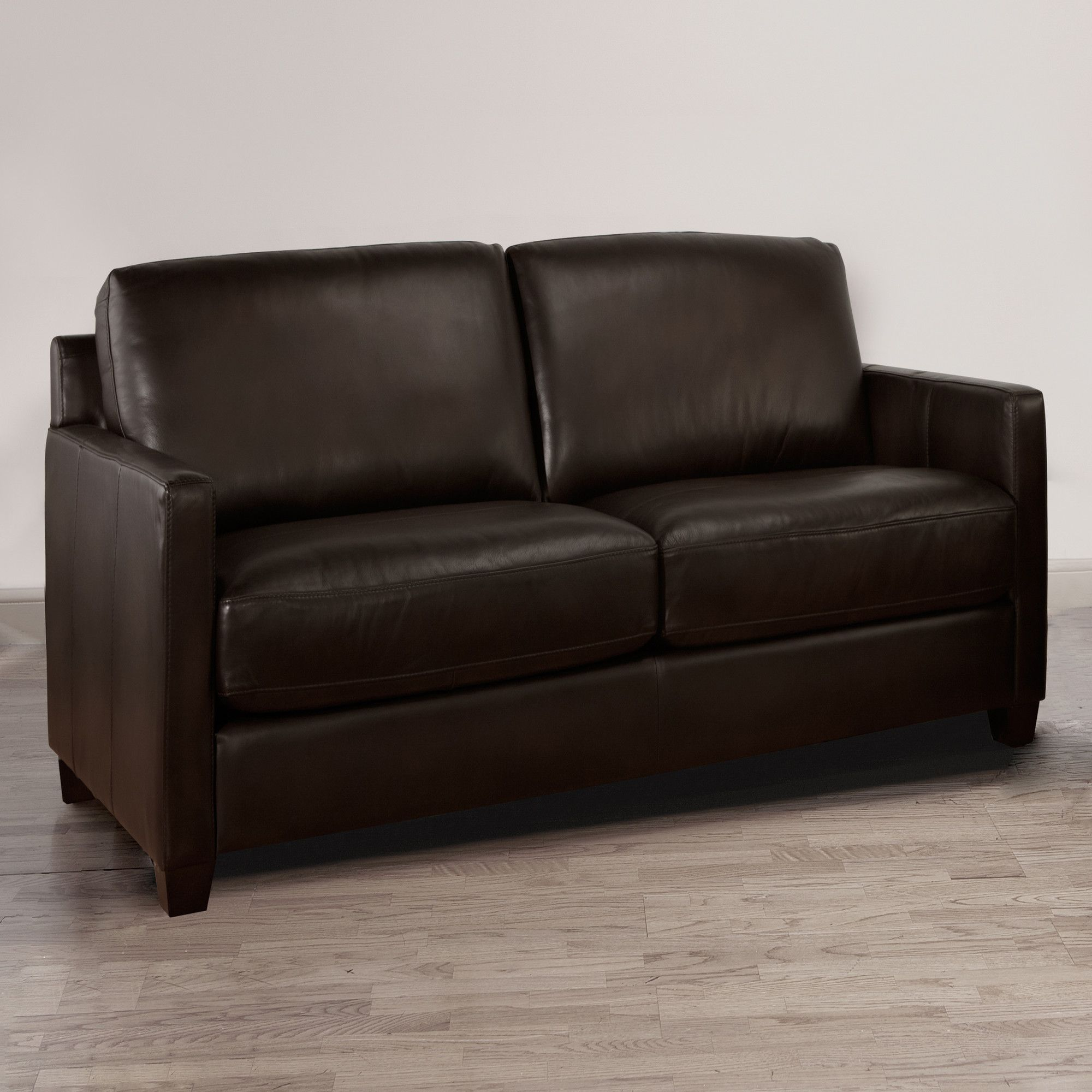 decoro baxter stationary leather loveseat products leather rh pinterest com