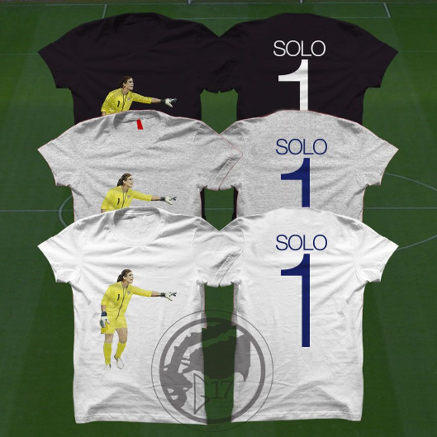 85055b4815c Double Sided Hope Solo T-Shirt - USWNT Player - Size S to Xxxl - Custom  Apparel soccer, world cup tshirt, Solo tee, uswnt tshirt by on Etsy