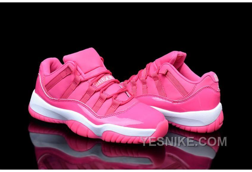 cd7d2da59b3d ... clearance womens air jordan 11 pink white 901d0 e3bff