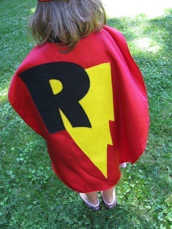 Childrens Capes Custom Personalized Superman Kid Cape seen
