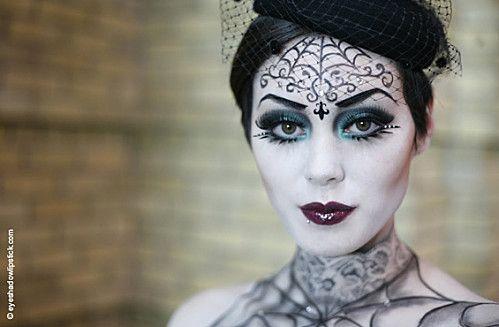 Maquillage Halloween Mariee.Mariee Funebre Maquillage Halloween Maquillage Sorciere Maquillage Halloween Simple