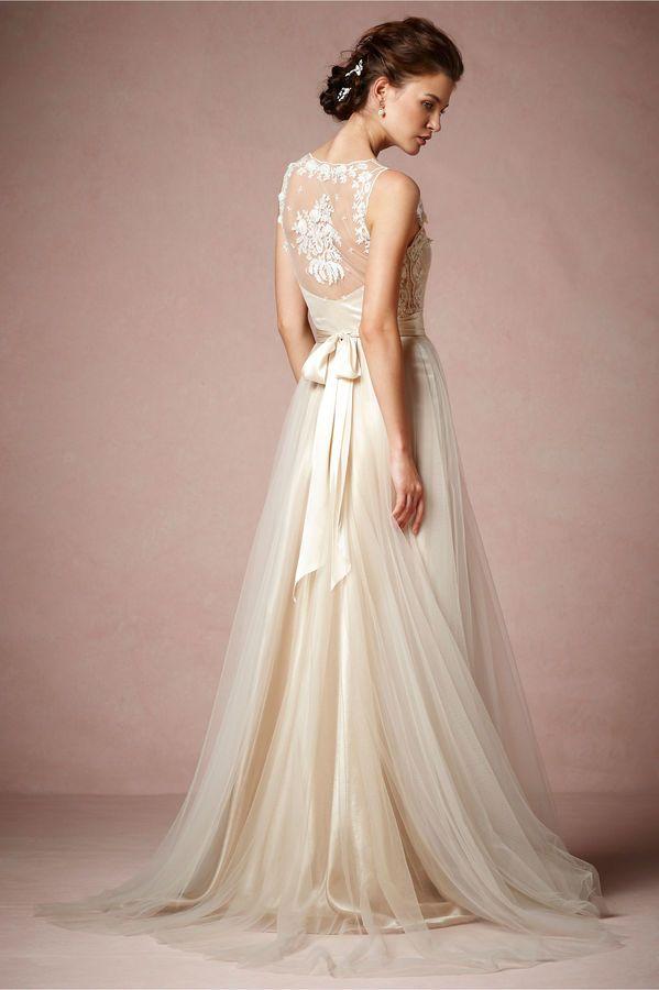 BHLDN Onyx Gown - women\'s bridal fashion (wedding style, long ...