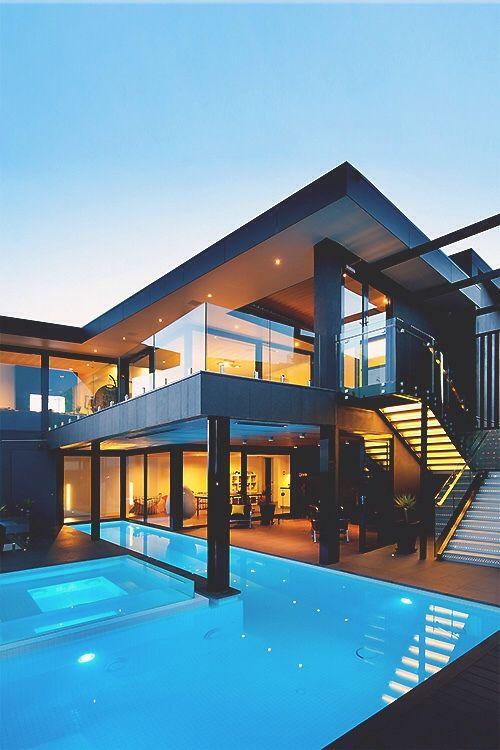 Imagen de house pool and home casa casas hogar y for Casa de lujo minimalista y espectacular con piscina por a cero