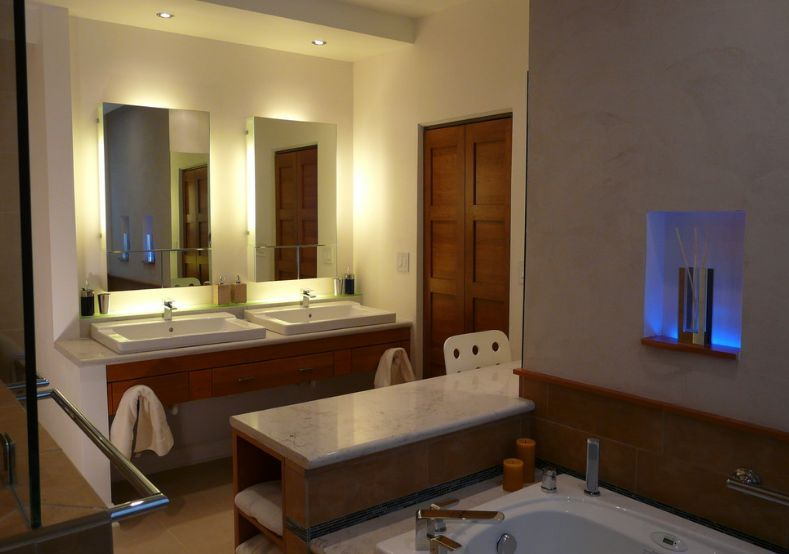 marble-top-for-bathroom-mirror-lights | Bathroom mirror with lights ...