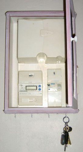 Le Blog De Lyll Cache Tableau Electrique Cacher Compteur Electrique Compteur Electrique