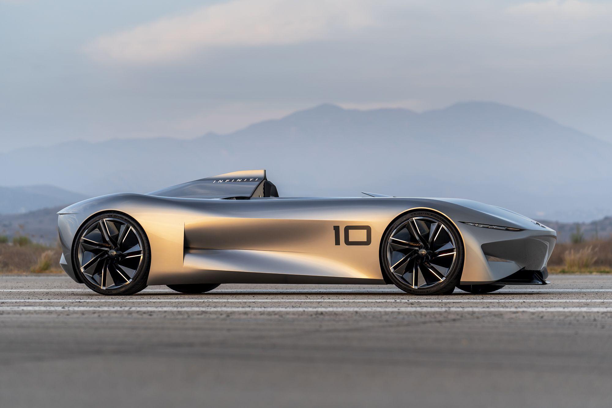 Infiniti Prototype 10 Vision D Un Speedster Electrique Cars