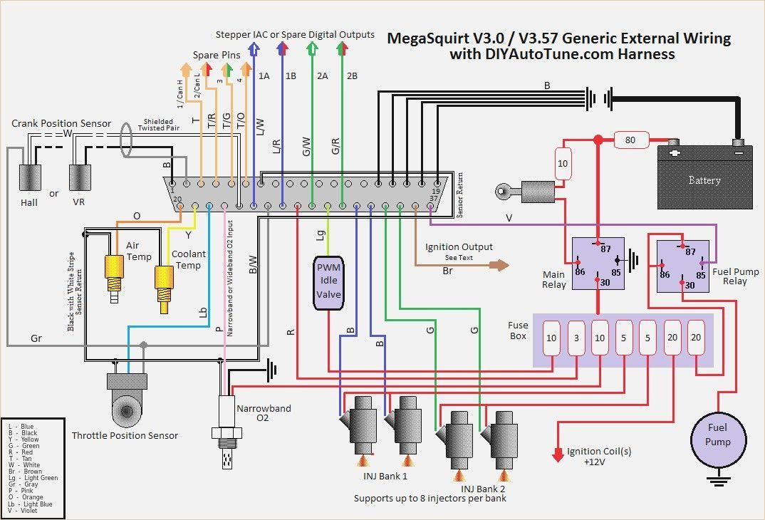 Megasquirt 2 Wiring Diagram Diagrama De Circuito Sistemas Automotrices Termostato